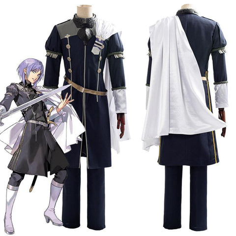 Fire Emblem: Three Houses Cindered Shadows Yuri Suit Cosplay Costume - SpiritCos
