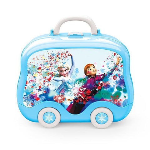Disney Frozen Blue Backpack Child Girl Makeup Makeup Makeup Toy Set - SpiritCos