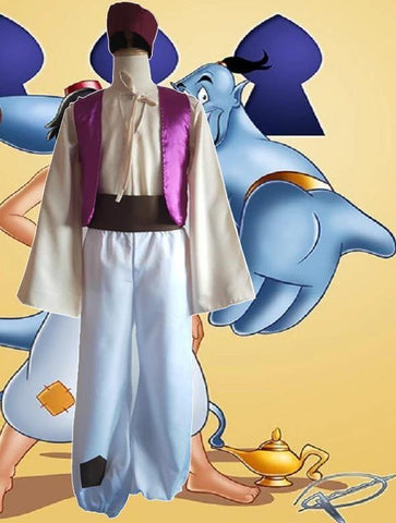 Halloween One Thousand And One Nights Cos Service Magic Aladdin Cosplay Costume - SpiritCos