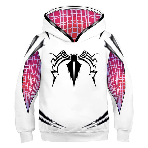 Kids 3D Print Gwen Sweatshirt Cosplay Clothing Hooded Hoodie - SpiritCos