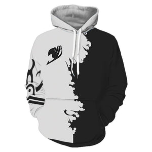 Unisex 3D Print Anime Fairy Tail Cosplay Hoodies Sweatshirts Casual Pullover Hooded Jacket - SpiritCos