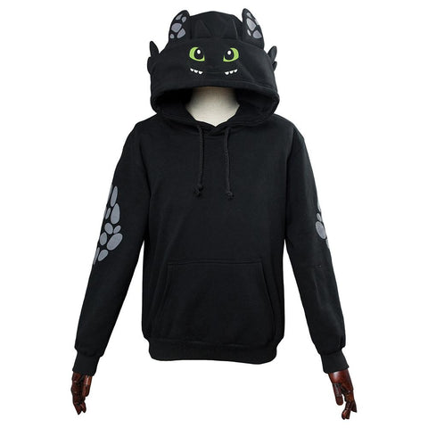 Unisex How To Train Your Dragon Toothless Cosplay Hoodie 3D Printed Sweatshirt Men Women Casual Pullover Streetwear - SpiritCos