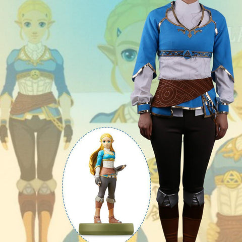 Game The Legend Of Zelda Twilight Princess Cosplay Costume - SpiritCos