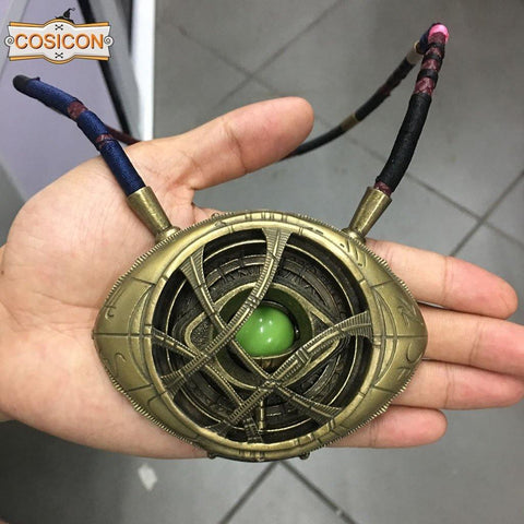 Doctor Strange Pendant Eye Of Agamotto Necklace Cosplay Prop - SpiritCos