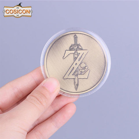 The Legend Of Zelda Cosplay Breath Of The Wild Special Collectible Coin - SpiritCos