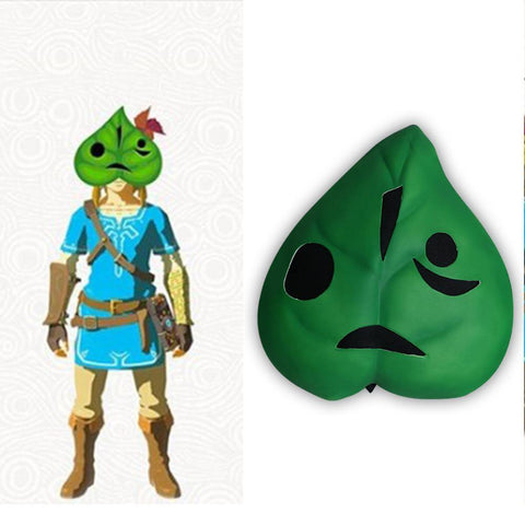 The Legend Of Zelda Korok Cosplay Mask Adult Wearable Halloween Party Prop - SpiritCos