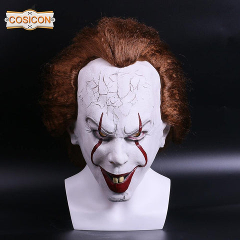 Stephen King'S Movie It  Pennywise Clown Cosplay Mask - SpiritCos