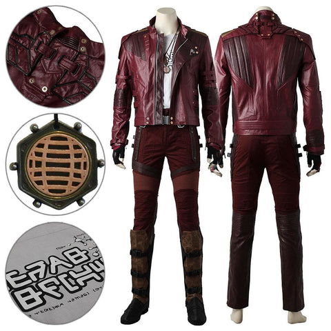 Star-Lord Peter Jason Quill Avengers: Infinity War Guardians Of The Galaxy Vol. 2 Cosplay Costume - SpiritCos