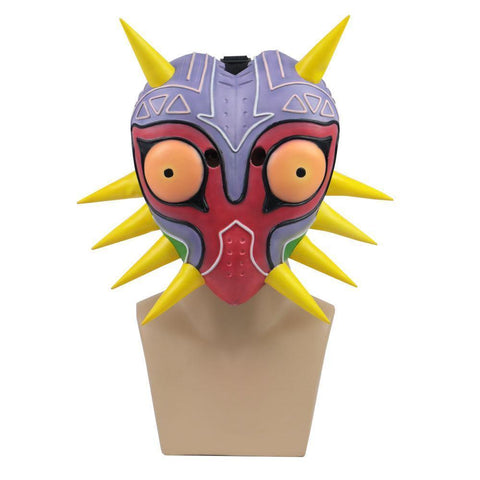 The Legend Of Zelda Majora Led Mask Game Cosplay Masks Stylish Painted Party Mask Cosplay Props Accessories For Women Men - SpiritCos