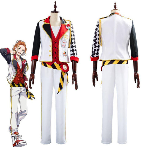 Game Twisted-Wonderland Alice In Wonderland Theme Cater Halloween Uniform Outfits Cosplay Costume - SpiritCos