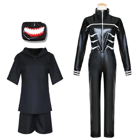Tokyo Ghoul Kaneki Ken Costume Uniform Men And Boys Anime Cosplay - SpiritCos