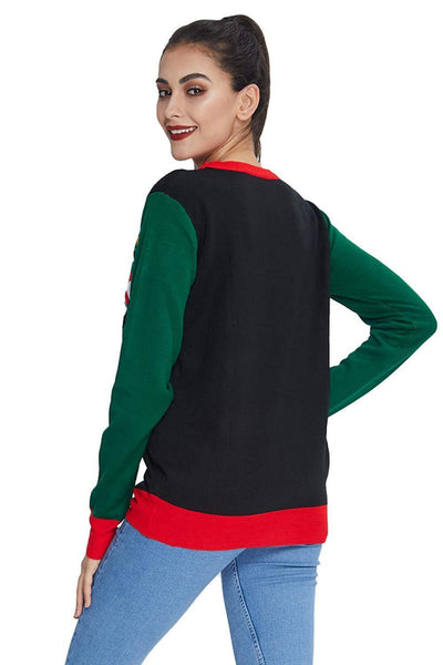 Women Men'S Light Up Ugly Christmas Sweater - SpiritCos