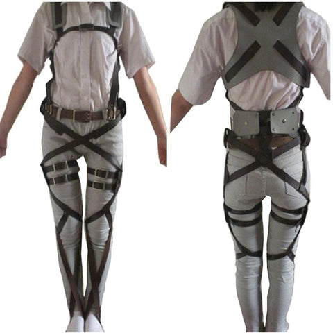 Attack on Titan Shingeki no Kyojin Belts and harness Cosplay Straps - SpiritCos