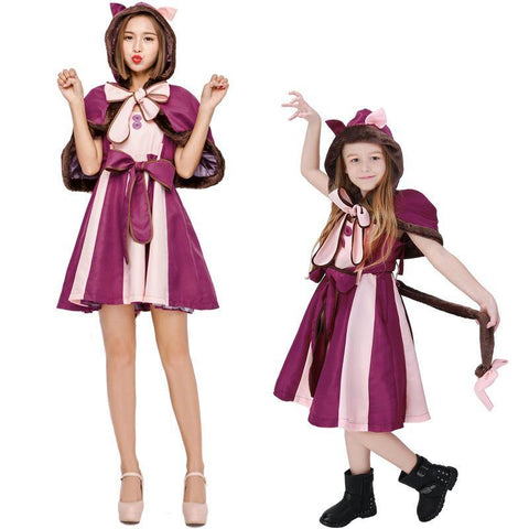 Alice In Wonderland Girls Lovely Dress Costume - SpiritCos