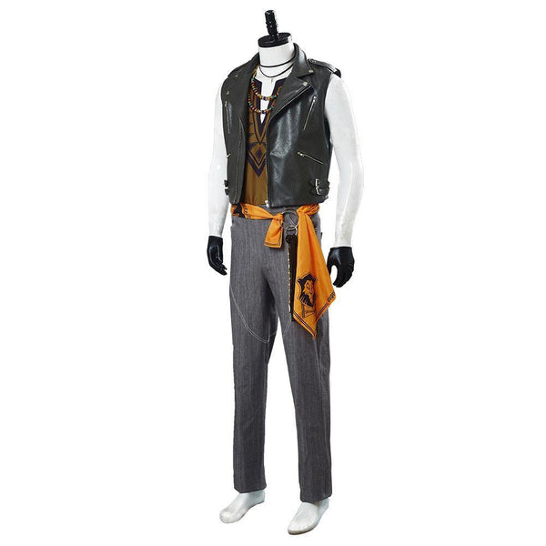 Game Twisted Wonderland Jack Howl Halloween Outfit Cosplay Costume - SpiritCos