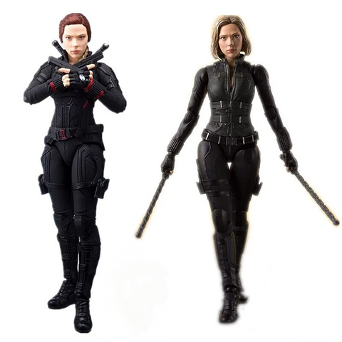 Avengers Figuarts Black Widow Action Figure Model Toys Doll For Gift - SpiritCos
