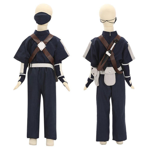 Child Size Kids Size Young Kakashi Hatake From Naruto Halloween Cosplay Costume - SpiritCos