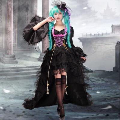 Vocaloid Miku Cosplay Dress/Costume - SpiritCos