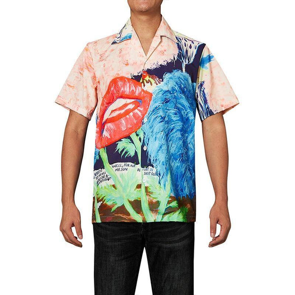 Men'S Hawaiian Shirts Art Painted Oil Painting Printed - SpiritCos