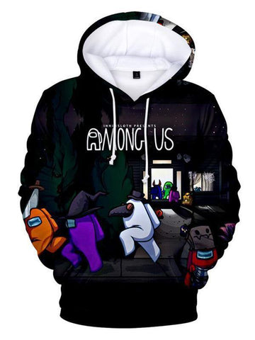 Among Us Hoodie Impostor Hooded Sweatshirt For Men Women - SpiritCos
