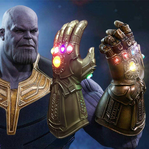 Avengers Infinity War Thanos Infinity Gauntlet  Led Gloves - SpiritCos