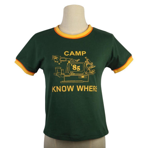 Stranger Things Dustin 85 Know Where Kids T-Shirt Summer Short Tee Tops - SpiritCos