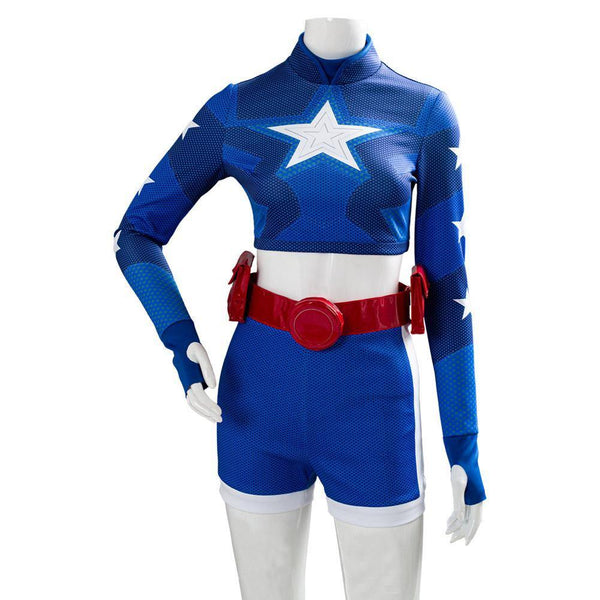Stargirl-Courtney Whitmore Halloween Top Shorts Outfit Cosplay Costume - SpiritCos