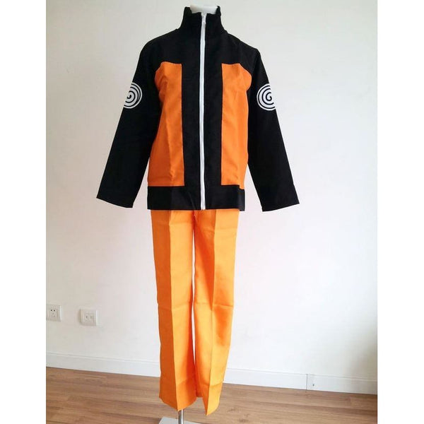 adult Halloween costumes Uzumaki Naruto cosplay costume for men anime clothes jacket suits - SpiritCos