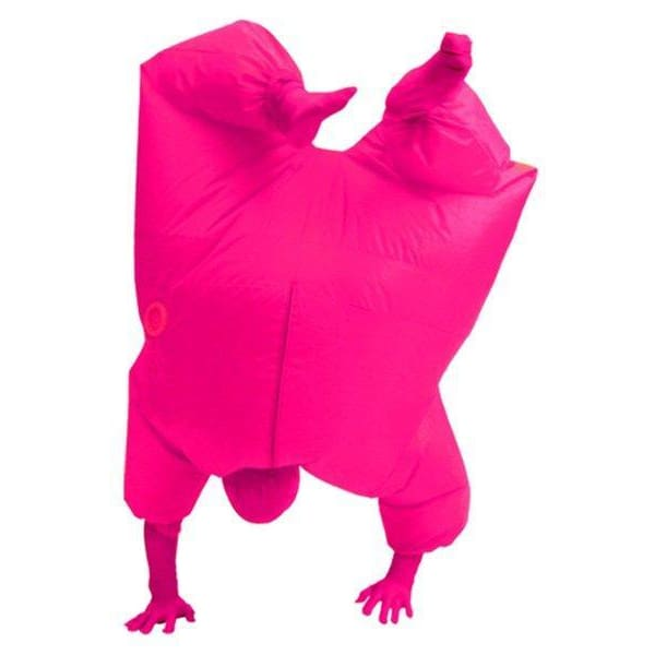 Adult Size Inflatable Costume Full Body Jumpsuit Pink Version - SpiritCos