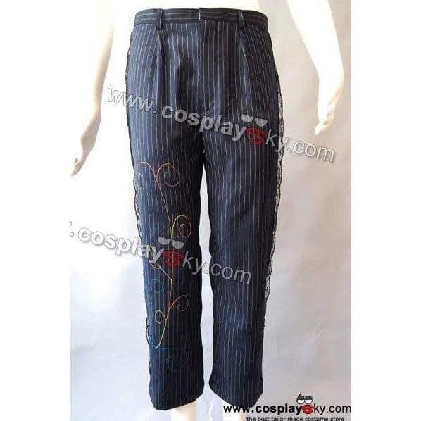 Alice In Wonderland Johnny Depp Mad Hatter Pinstripe Pants - SpiritCos