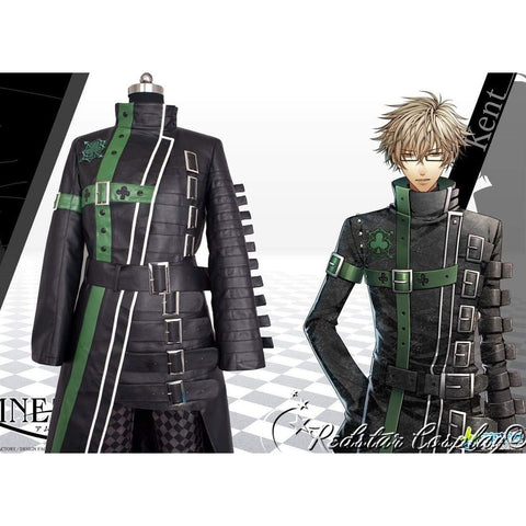 Amnesia Kent Anime Cosplay Costume - Leather or Uniform cloth fabric - Custom-made in Any size - SpiritCos