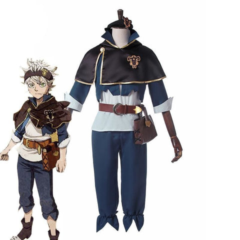 Anime Black Clover Asta Magic Knight Outfit Cosplay Costume - SpiritCos