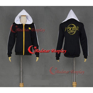 Anime Noragami Yato Cosplay Unisex Casual Sweatshirt Hoodie Jacket Coat Zipper - SpiritCos