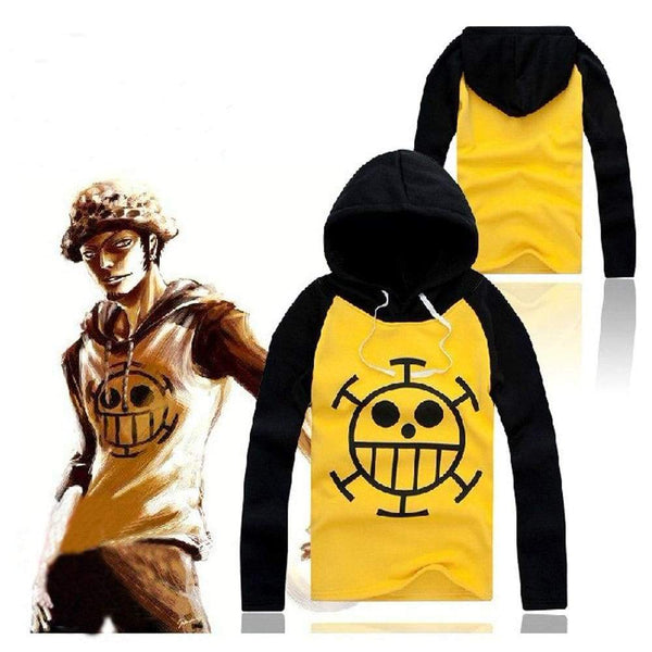 Anime ONE PIECE Trafalgar·Law Cosplay Sweater Hoodie Death Surgeon Thick Winter - SpiritCos