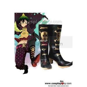 Ao No Blue Exorcist Amaimon Earth King Cosplay Shoes Boots - SpiritCos