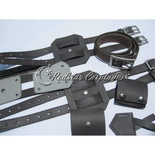 Attack on Titan Shingeki no Kyojin Belts and harness Cosplay Costume Wig Straps (Ver.A) - SpiritCos