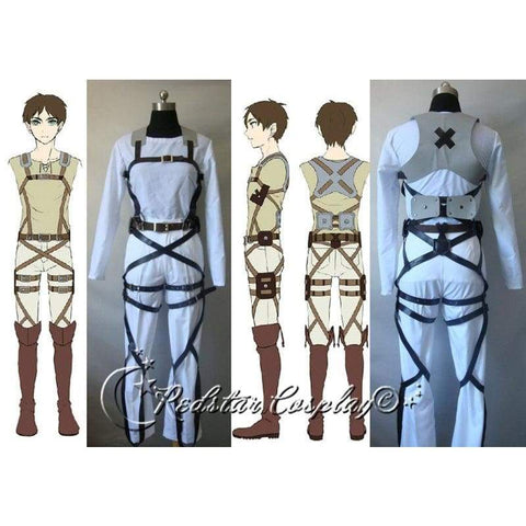 Attack on Titan Shingeki no Kyojin Belts and harness Cosplay Straps and Skirt (Ver.A) - SpiritCos