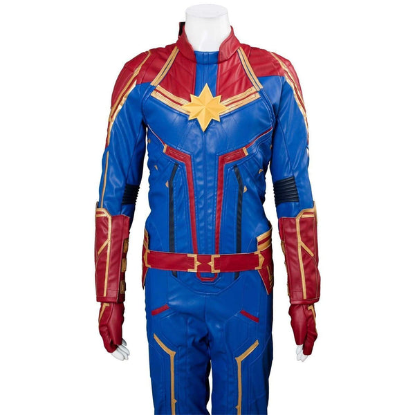 Avengers 4 Captain Marvel Outfit Carol Danvers Cosplay Costume - SpiritCos