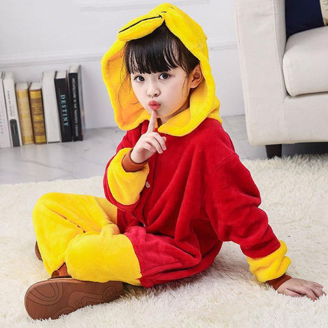 Child Romper Winnie The Pooh Costume For Kids Onesie Pajamas For Girls Boys - SpiritCos