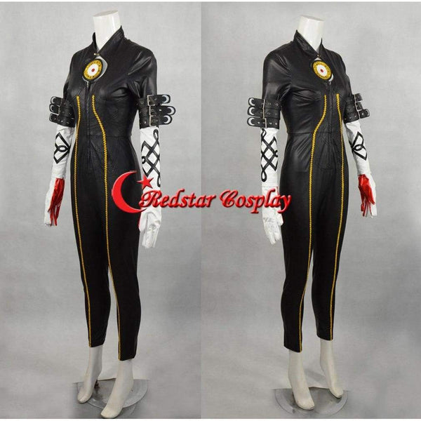 Bayonetta Cosplay Jumpsuit Costume - Costume Made In Any Size - SpiritCos