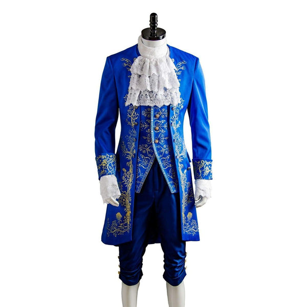 Beauty And The Beast Prince Adam Suit Cosplay Costume Adults Halloween Outfit - SpiritCos
