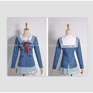 Beyond The Boundary Mirai Kuriyama Cosplay Costume Custom Made - SpiritCos