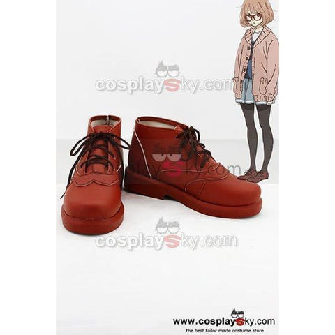 Beyond The Boundary Mirai Kuriyama Cosplay Shoes - SpiritCos