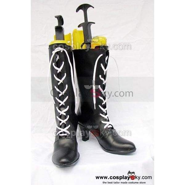 Black Butler Ciel Cosplay Boots Shoes - SpiritCos