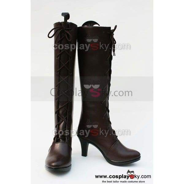 Black Butler Grell Cosplay Boots Shoes - SpiritCos