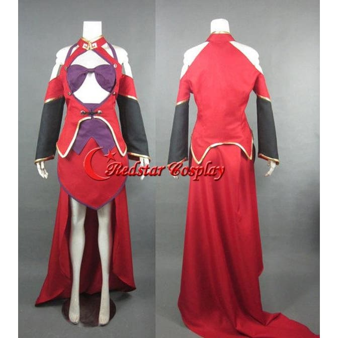 Blazblue Calamity Trigger Litchi Cosplay Costume - Custom Made In Any Size - SpiritCos