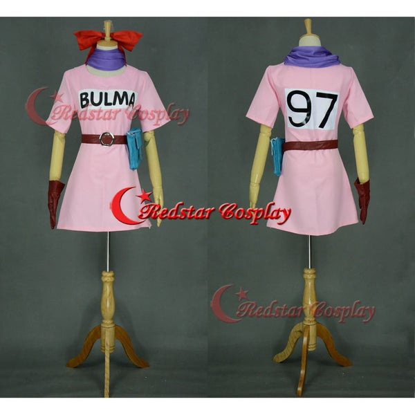 Bulma Brief Cosplay Costume From Dragon Ball Z Cosplay - SpiritCos