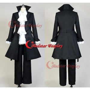 Bungou Bungo Stray Dogs Ryunosuke Akutagawa Port Mafia Cosplay Costume Uniform - SpiritCos
