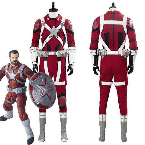 Black Widow Red Guardian Alexi Men Outfits Halloween Carnival Costume Cosplay Costume - SpiritCos