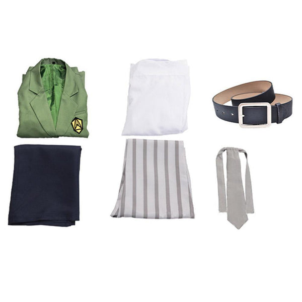Anime Beastars Louis School Uniform Outfit Cosplay Costume - SpiritCos